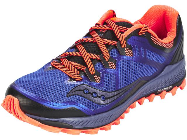 saucony Peregrine 8 - Zapatillas running Hombre - rojo/azul